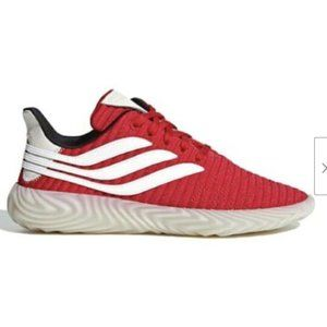 Adidas Originals Red Sobakov Lace Up Sneakers 8